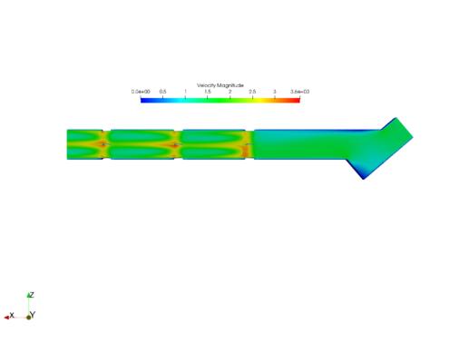 multi-turbine CFD simultation